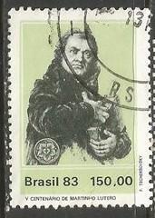 BRAZIL 1850 VFU I566-5