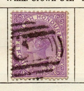 British Honduras 1882 Early Issue Fine Used 4c. NW-113781