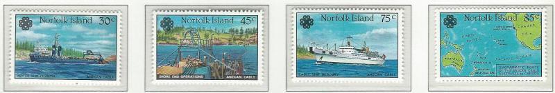 Norfolk Island    MNH  SC 319 - 322