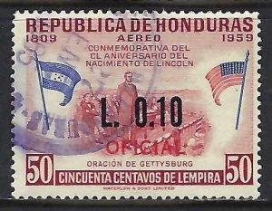 Honduras C347 VFU Z4210-1