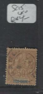 FRENCH INDOCHINA (P0501B)  SC 15  SON CDS   VFU