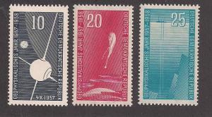 GERMANY - DDR SC# 370-2 F-VF OG 1957-58