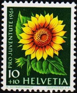 Switzerland. 1961  10c+10c S.G.J188 Unmounted Mint