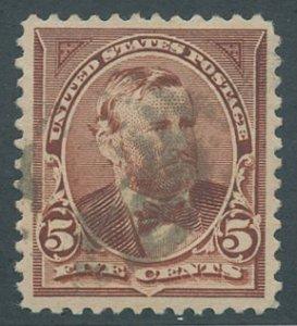 US Scott #255, Used, VF