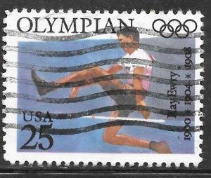 USA 2497: 25c Ray Ewry, 1900-1908, 1936, used, VF