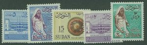British Sudan SC# 146-50 Views nad People MH