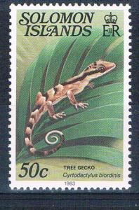 Solomon Islands 409A MNH Tree Gecko 1979 (S0995)