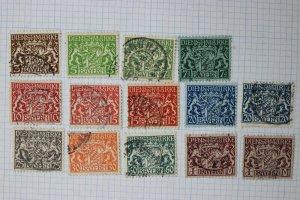 Germany Bavaria sc#06-019  used set  cv$491.00 official postally used