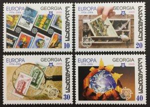 Georgia 2006, #390-3, Europa 50th Anniversary, MNH.