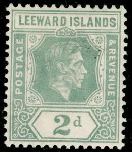 LEEWARD ISLANDS SG103, 2d olive-grey, M MINT.