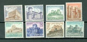 SPAIN CASTLES #1479-1486...SET...MNH...$2.00
