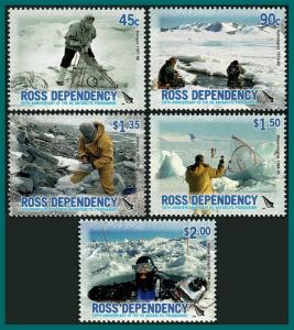 Ross Dependency 2006 New Zealand Antarctic Programme, MNH L94-L98,SG99-SG103