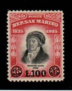 San Marino #277  Mint  Scott $50.00