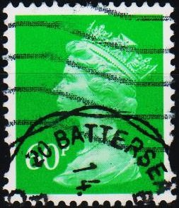 Great Britain. Date? 60p Fine Used