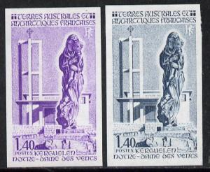 French Southern & Antarctic Territories 1983 Church o...