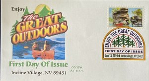 AFDCS 5476 Enjoy Great Outdoors Canoeing DCP Incline Village NV