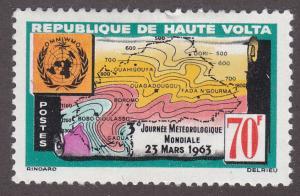 Burkina Faso 107 World Meteorological Day 1963