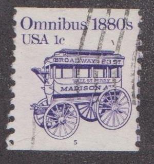 US #1897 Omnibus Used PNC Single plate #5