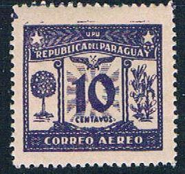 Paraguay C60 MNH Orange Tree 1931 (P0301)+