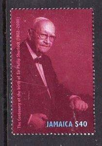 Jamaica-Sc#959-Unused NH set-Sir Philip Sherlock-2000-