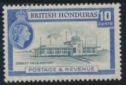 British Honduras SG 184 SC # 149 MLH  perf 13½ Stanley Field Airport see scan