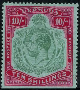 Bermuda 53 Mint 1910-1924 SCV$ 225.00