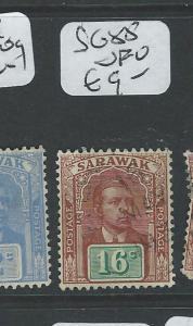 SARAWAK (P1401B) BROOKE 16C  SG 85   VFU