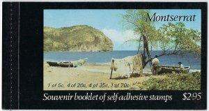 Montserrat Scott 322a Booklet Mint Never Hinged - Artifacts