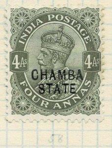 india chamba states- sg 49 -  lmm