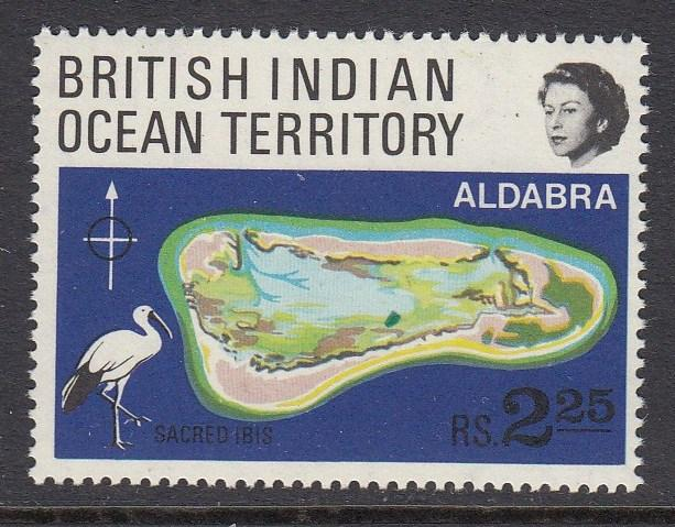 British Indian Ocean Territory 34 mnh