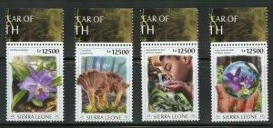 SIERRA LEONE 2020 INT'L YEAR OF  PLANT HEALTH SET   MINT NH