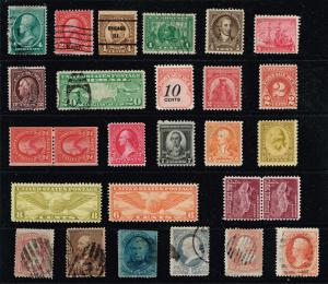 US STAMP ACCUMULATE STAMP COLLECTION LOT #T2
