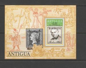 Barbuda Opt Antigua 1979 Hill, 36 MS UM SG MS456 Cat £27