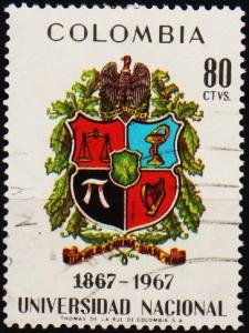 Colombia. 1968 80c S.G.1232 Fine Used