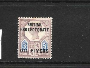 OIL RIVERS 1892-94  5d    QV    MLH    SG 5