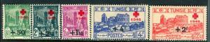 Tunisia 1990: Sc. # B91-B95; **/MNH Cpl. Set