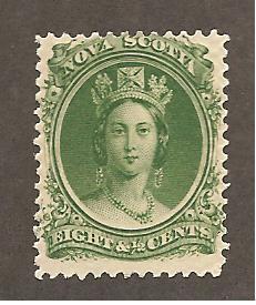 Nova Scotia Scott #11  Mint H  Scott CV $12.00
