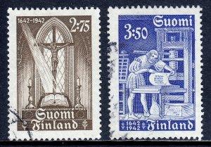 Finland - Scott #240-241 - Used - SCV $4.50