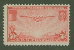 USA Scott c22 China Clipper Aircraft 1937 CV $11