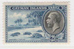 British Colony Cayman Islands 1935 2 1/2d MH* Stamp A22P19F8949