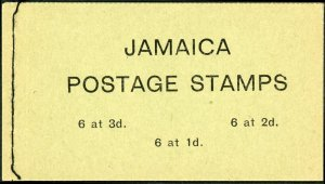 Jamaica #217a; 219a; 221 Full Booklet
