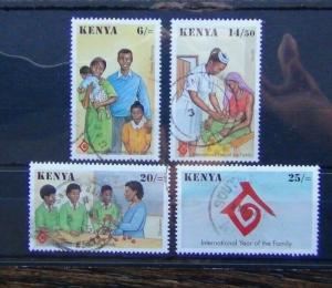 Kenya 1994 International Year of the Family set Used