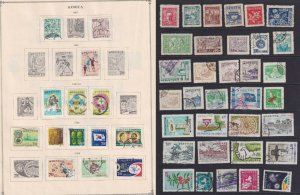KOREA - INTERESTING MINT & USED COLLECTION ON PAGES - Z176