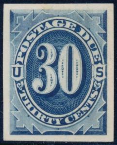 #J6TC4e -- XF -- POSTAGE DUE ATLANTA PLATE PROOF ON CARD B9860