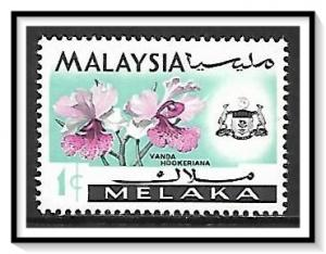 Malacca #67 State Crest & Orchids NG