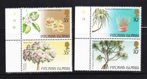 Pitcairn Islands 229-230 Set MNH Trees