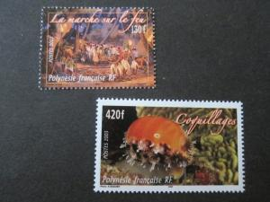 French Polynesia 2003 Sc 854-55 set MNH
