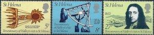 1986 St. Helena Halley´s Comet, compl. set 3 values VF/MNH, CAT 5$