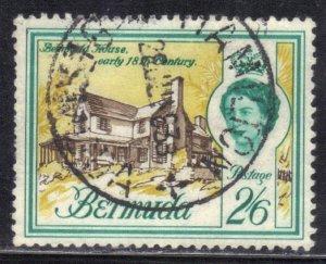 BERMUDA  SC# 188 **USED** 2sh6p 1953-58     SEE SCAN