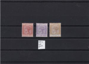 gibraltar spainish currency mounted mint stamps ref r10243